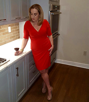 Flirty Red Dress