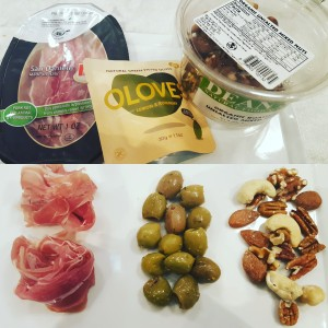 HOW TO SNACK LIKE A PRO prosciutto olives nuts