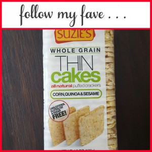 Great Gluten Free Low Calorie Crackers