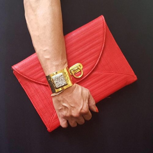 Cool Red Clutch
