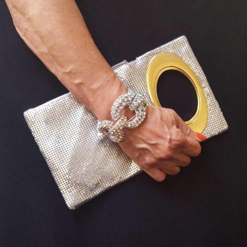 Cool Silver Clutch