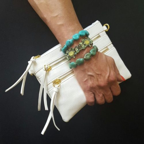 Cool White Clutch