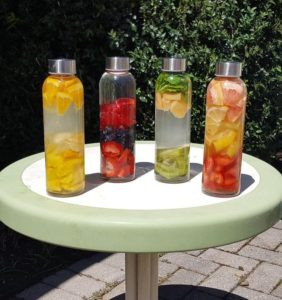 Hydrate in style Fruit Flavored Waters