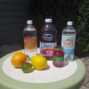 sparkly low calorie non alcoholic sangria ingredients