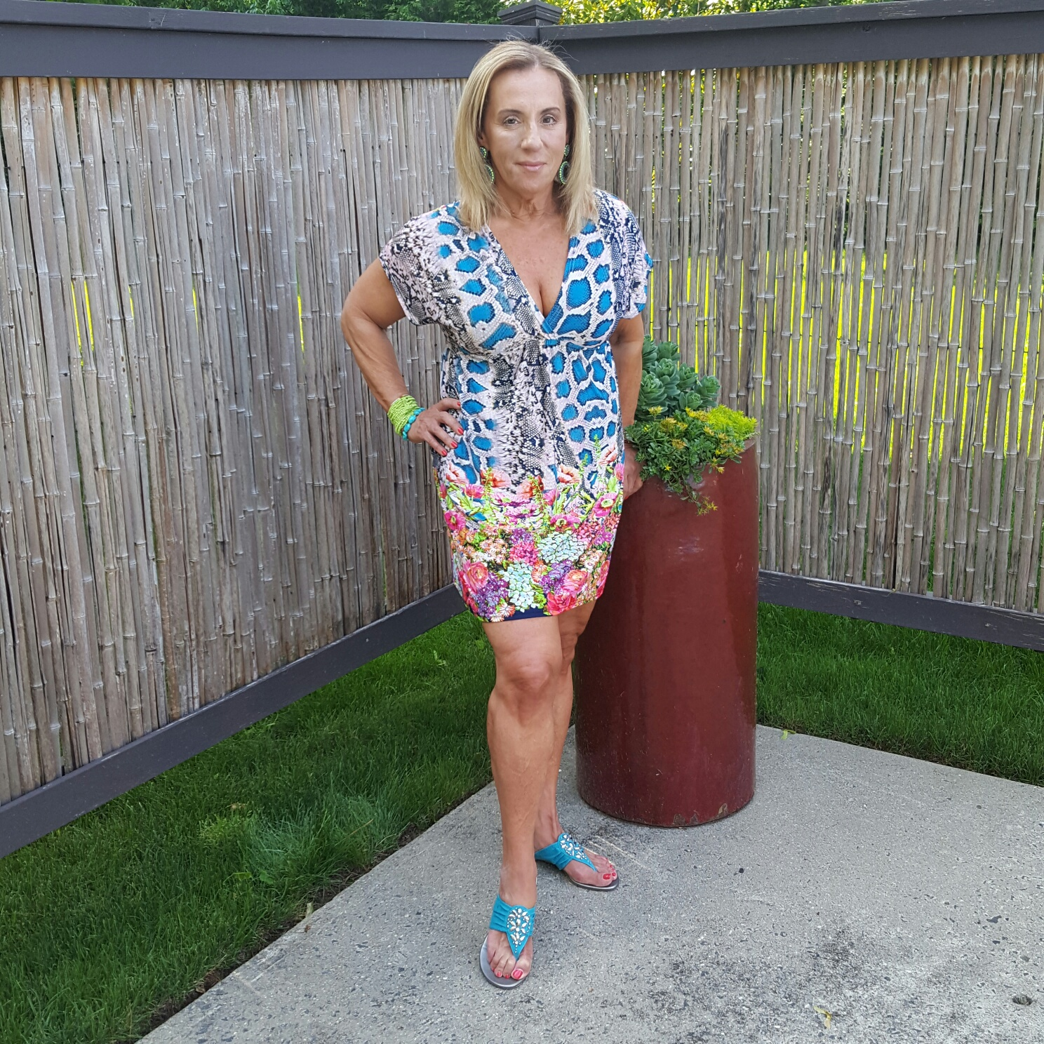 Over 50 dresses printed standing - followPhyllis
