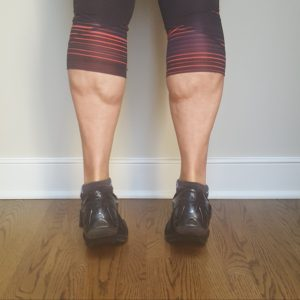 classic calf raises on toes