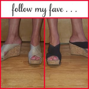 follow myfave White Mountain wedges