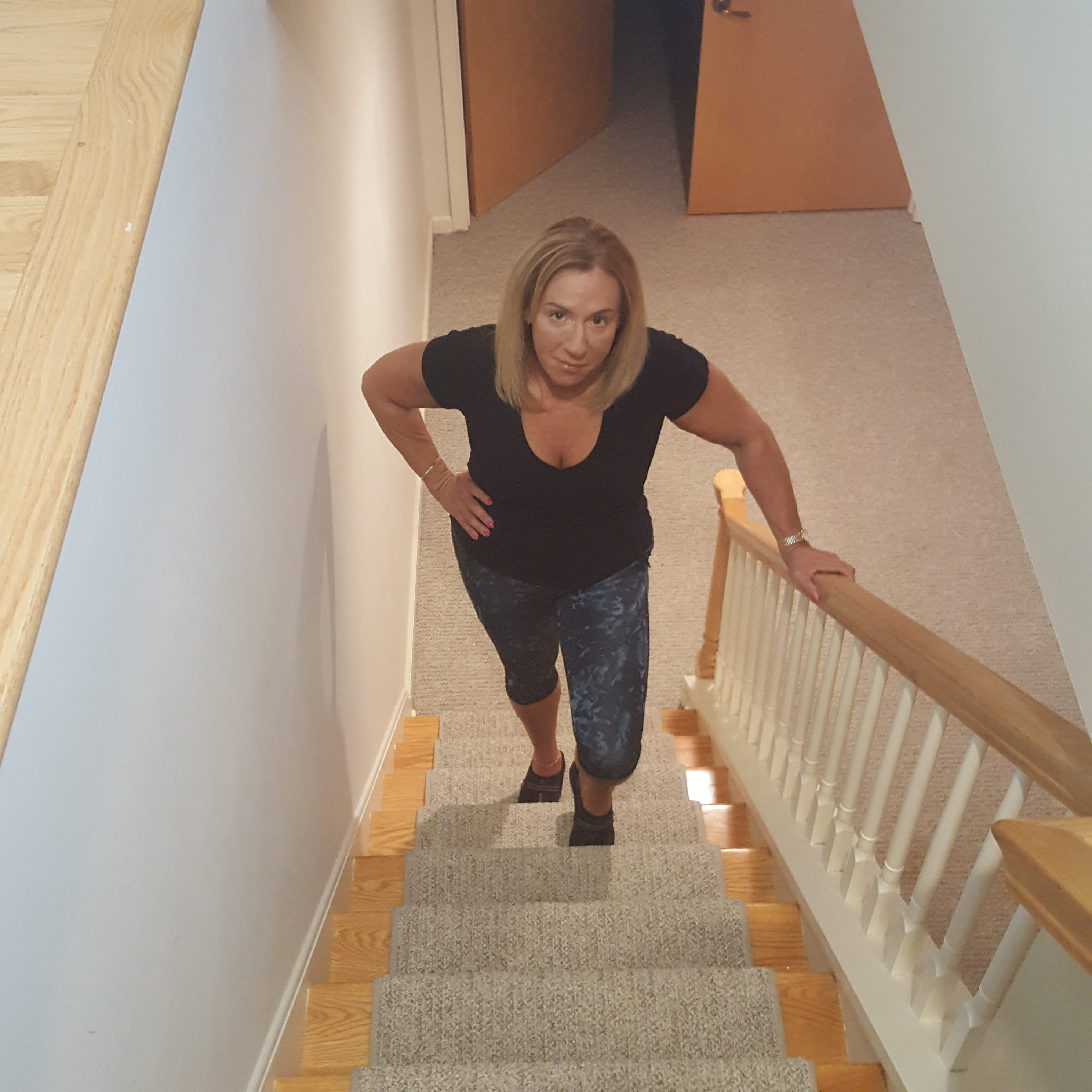 follow-phyllis-7 sneaky ways to get exercise into your day - taking the stairs