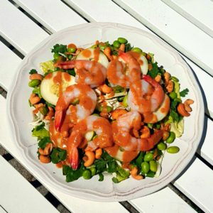follow-phyllis-tummy tightening thai shrimp salad