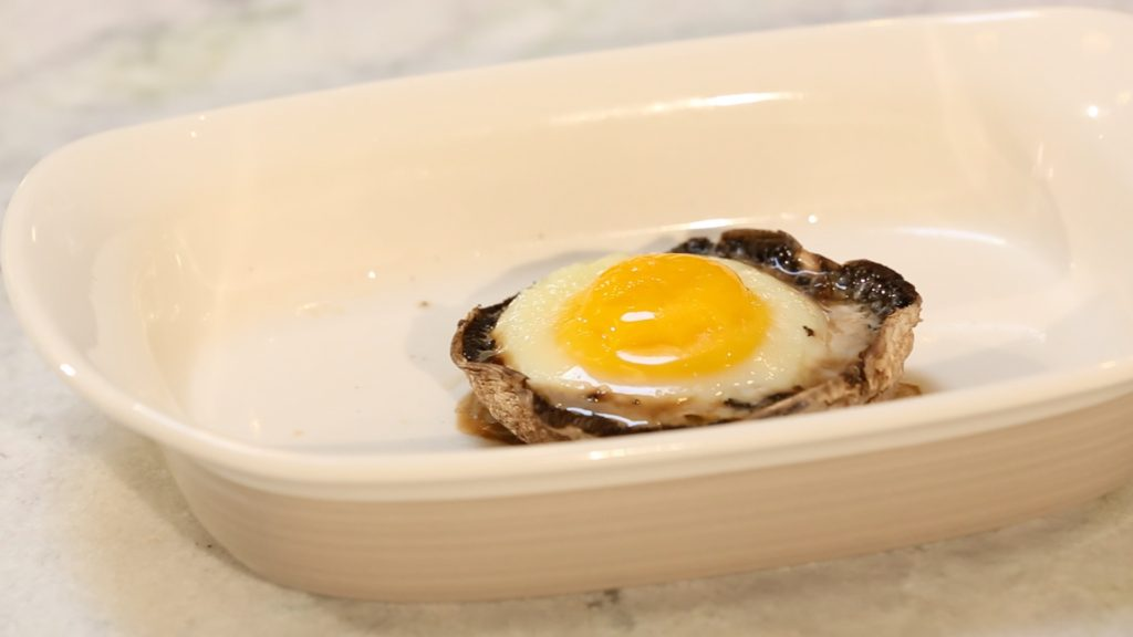 Baked Egg in Portobello Mushroom - followPhyllis