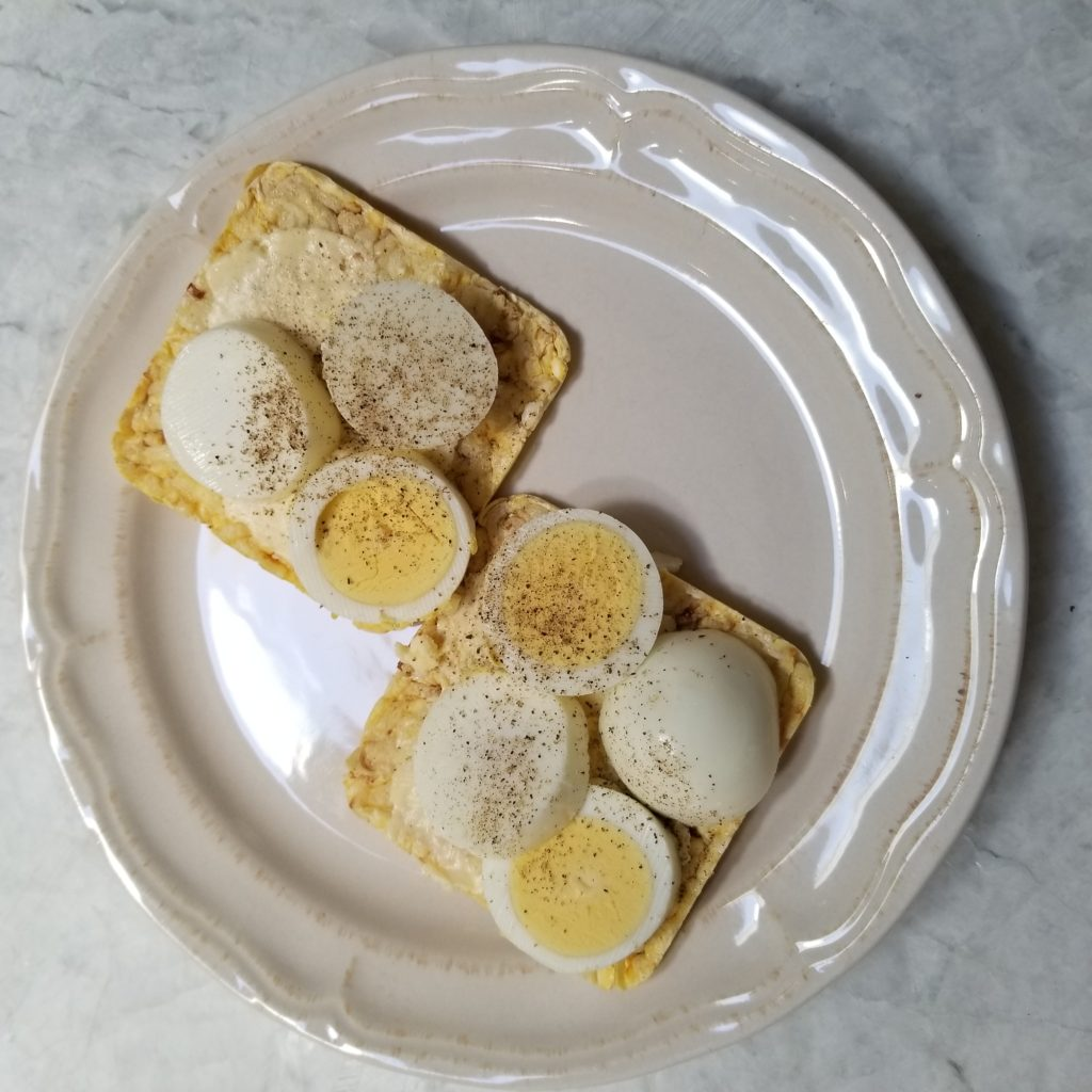 EGG SNACK TO LOSE WEIGHT - followPhyllis