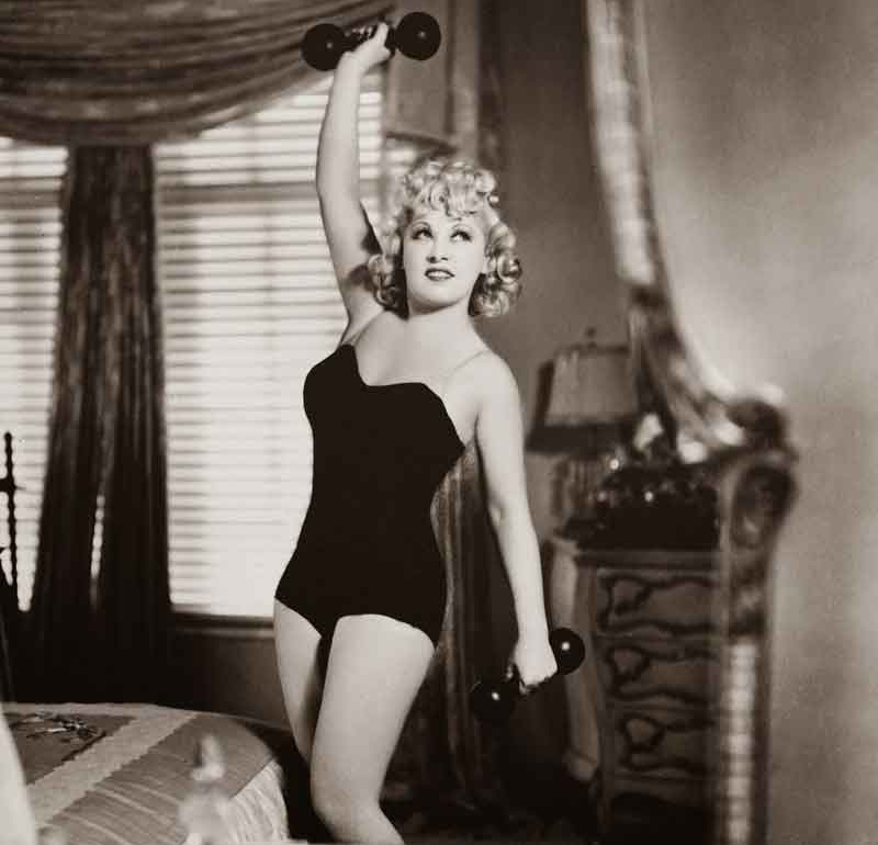 weightlifting old hollywood mae west - followPhyllis
