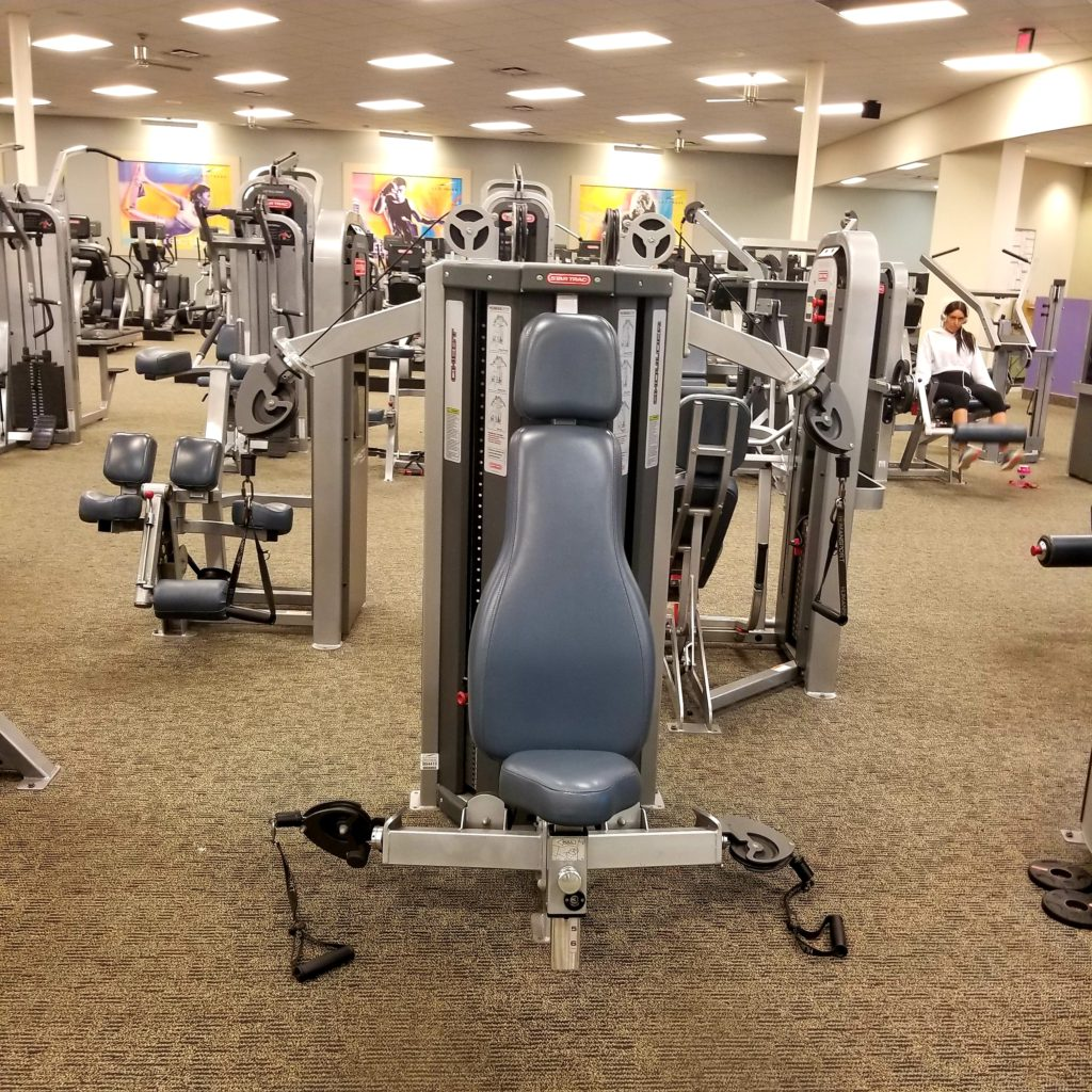 5 WAYS TO CHOSE THE RIGHT GYM FOR YOU equipment - follwPhyllis