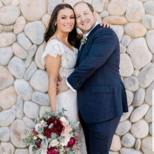 My daughter's wedding couple - followPhyllis
