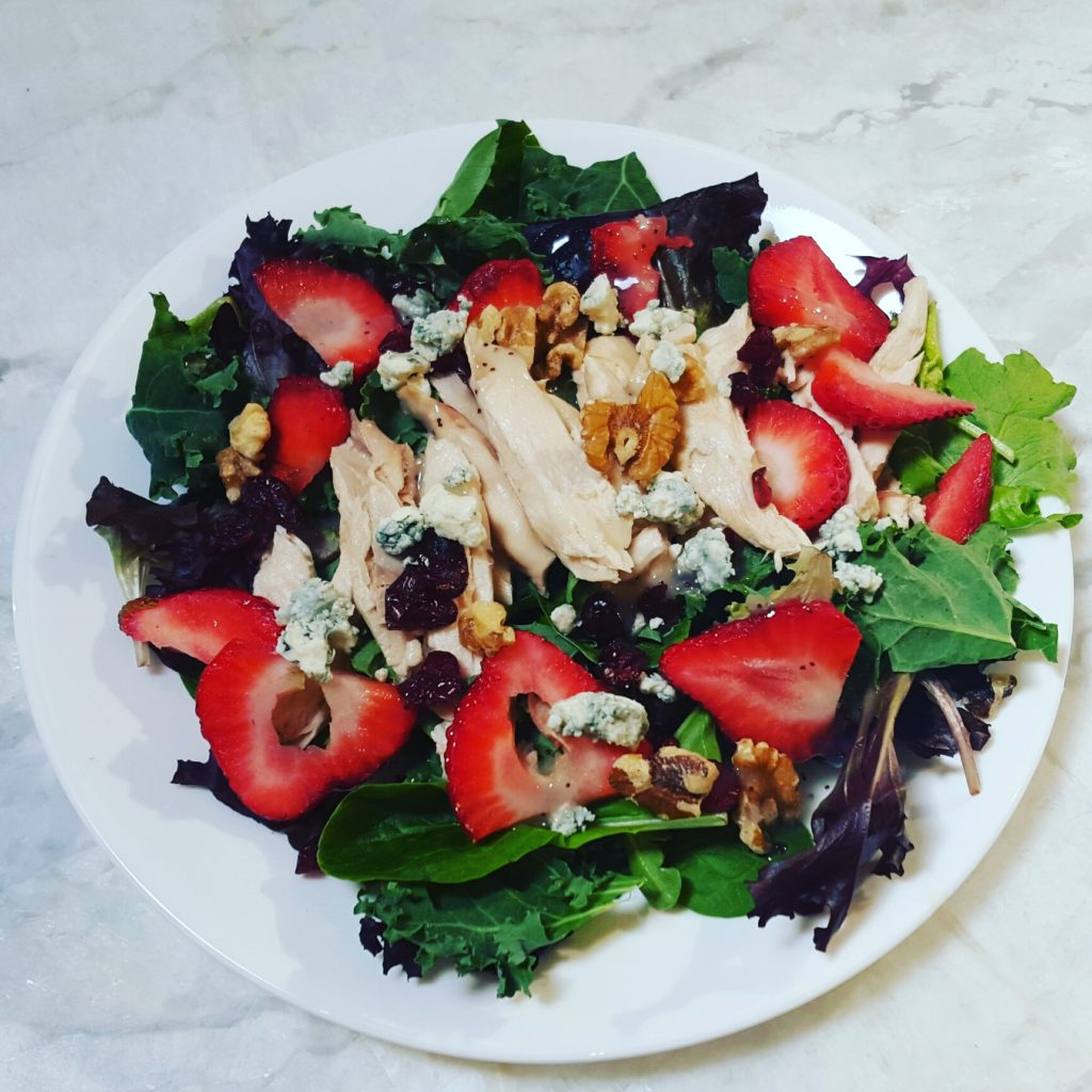 Setting Attainable Fitness Goals Salad - followPhyllis