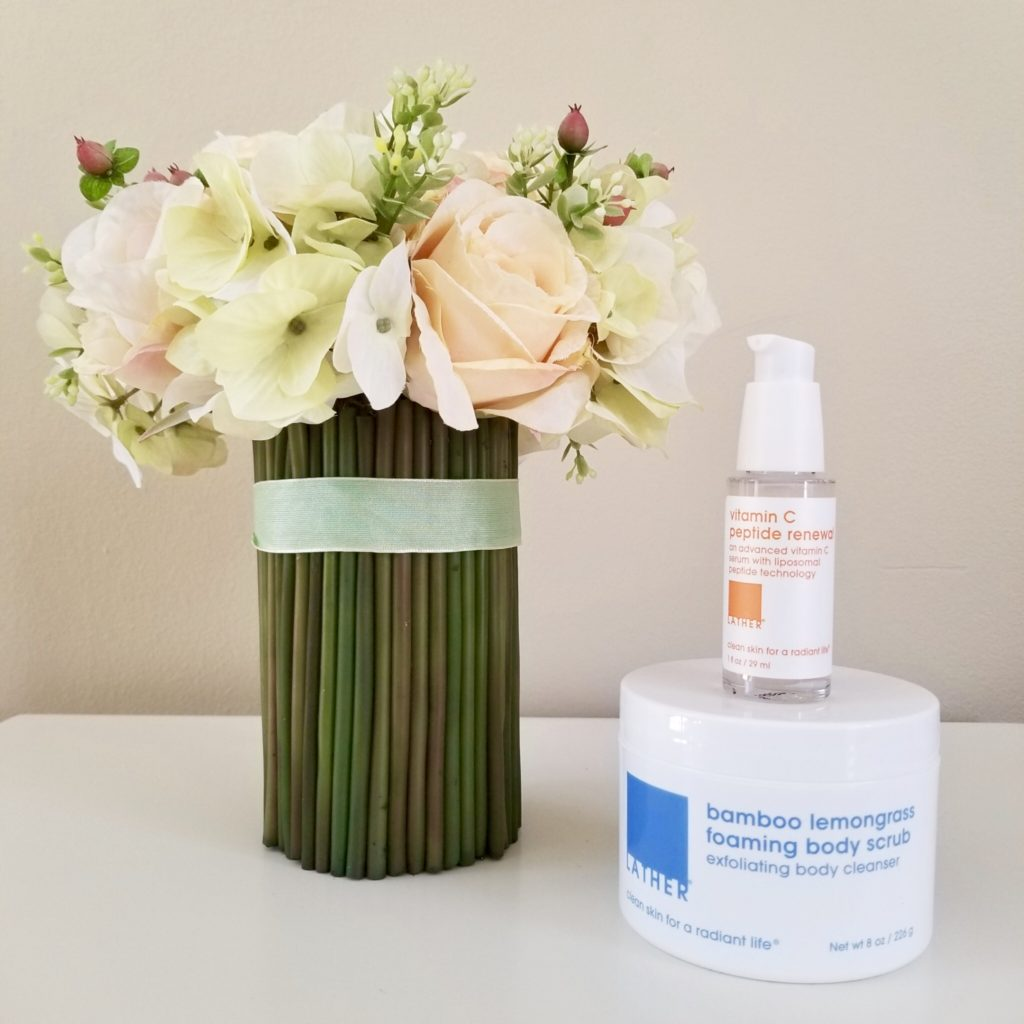 LATHER flowers with 2 products - followPhyllis