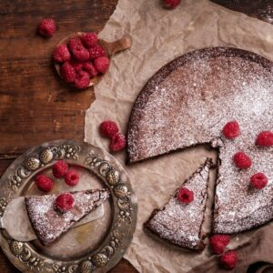 Flourless chocolate cake gluten free - follow Phyllis