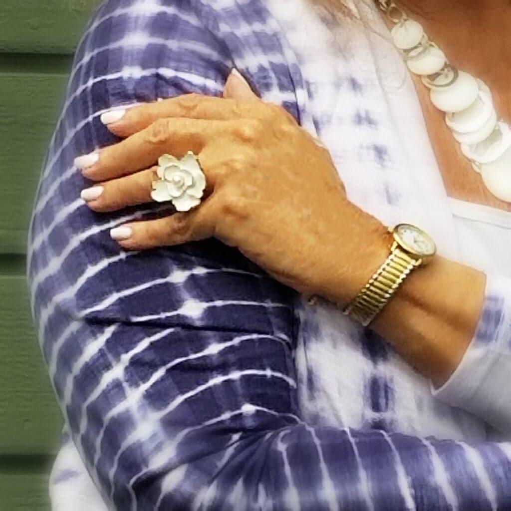 Ageless Style - Tie Dye ring - followPhyllis