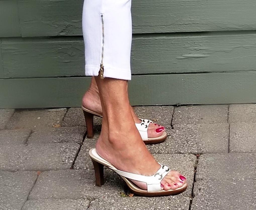 Ageless Style - Tie Dye shoes - followPhyllis
