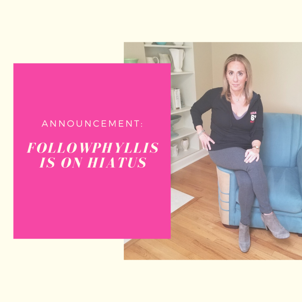 Hiatus IG Post - followPhyllis